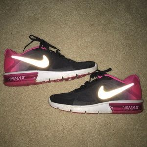 Pink & Black Nike Air Max Sequent